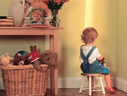Наказание детей родителями