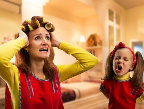 Как ребенок воспитывает маму