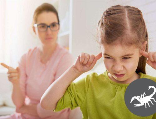 Как воспитывать ребенка скорпиона