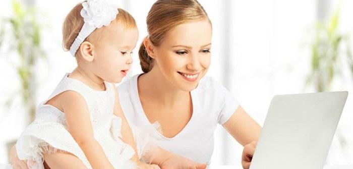 Как воспитать ребенка работая