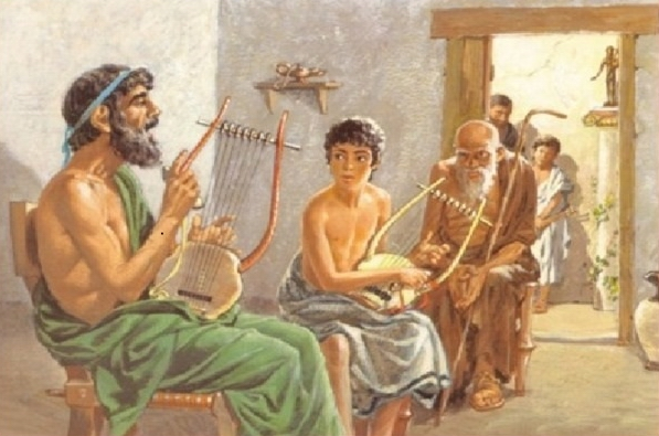 Как воспитывали детей в Древней Греции