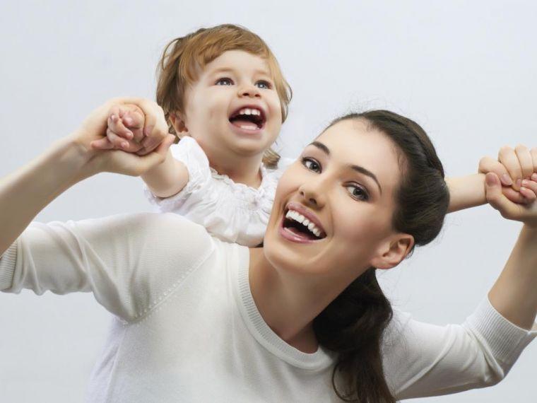 Как воспитывают детей матери одиночки