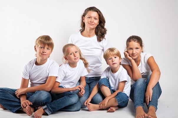 Как воспитать четверых детей