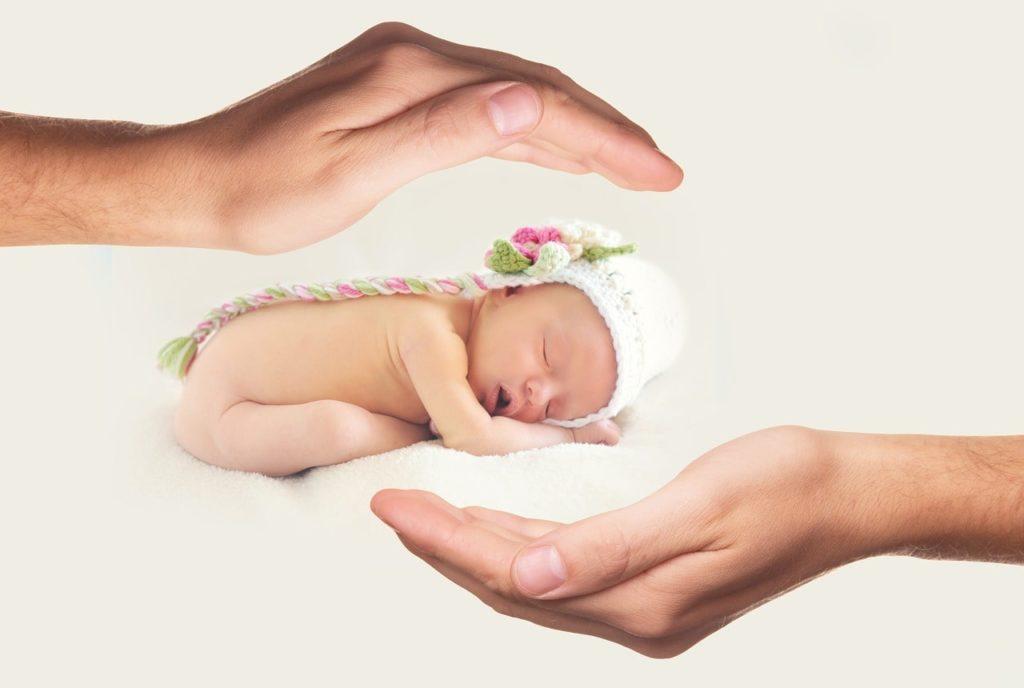 забота о месячном ребенке